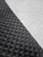 Стеганная ткань, цвет черный
