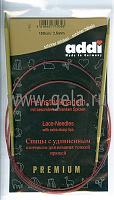 Спицы, круговые, с удлиненным кончиком, позолоченные, №3,5, 100 см