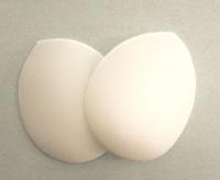 Плечевые накладки реглан (S) HKM, белые