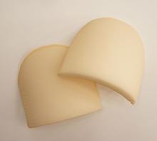 Плечевые накладки полумесяц (M) HKM, бежевый
