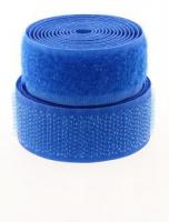 Лента контактная (липучка) синия, 25 мм