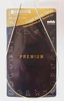 Спицы, круговые, супергладкие, никель, №2, 50 см