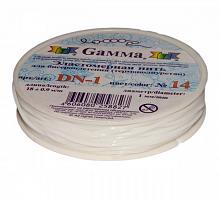 Резинка для бисера белая, 1 мм х 18 м