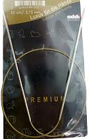 Спицы, круговые, супергладкие, никель, №3,75, 60 см