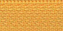 Молния Meras потайная неразъем, 1 замок 3мм 50см, цвет желтый