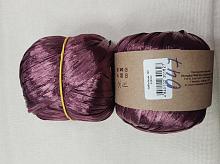 Пряжа Рафия (Raffia), цвет 47 бордо