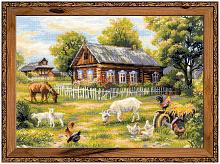 """Набор для вышивания арт.CС-1501 """"Деревенский полдень"""" 50х35 см"""