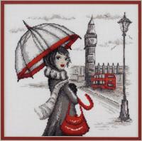 """Набор для вышивания """"Лондон"""" по рисунку О. Куреевой"""