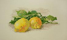 """Набор для вышивания """"Ветка с лимонами"""""""