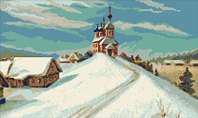 """Набор для вышивания """"Зима"""""""