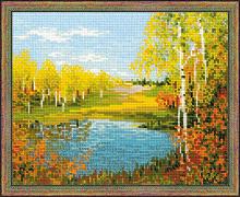 """Набор для вышивания арт.CС-1542 """"Осенний день"""" 30х24 см"""