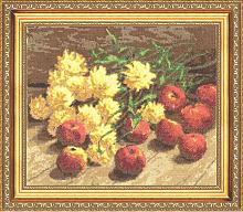 """Набор для вышивания """"Золотые шары"""""""