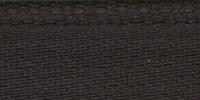 Молния RIRI металл. GO, 6 мм, 18 см, на атласной тесьме, неразъемн., тип подвески FLASH, цвет 2226 темно-коричневый