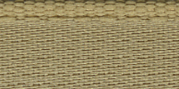 Молния RIRI металл. GO, 6 мм, 18 см, на атласной тесьме, неразъемн., тип подвески FLASH, цвет 2213  золотисто-бежевый