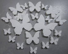 """Заготовка из пенопласта """"Бабочки микс"""""""