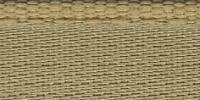 Молния riri атлас. никель,неразъем., 1замок 4мм,16см, тип подвески FLASH, цвет цепи Ni, цвет  золотисто-бежевый