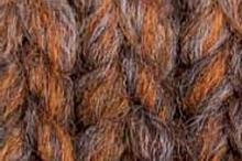 Пряжа INCA 114 коричневый темно коричневый