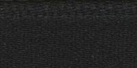 Молния riri атлас. золото, разъем,1замок 4мм, 60см, тип подвески FLASH, цвет цепи GO, цвет черный
