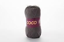 Пряжа Vita cotton COCO цвет 3899 серый стальной