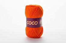 Пряжа Vita cotton COCO цвет 4305 оранжевый