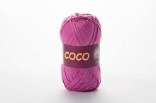 Пряжа Vita cotton COCO цвет 4304 розово-сиреневый