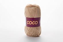 Пряжа Vita cotton COCO цвет 3889 бежевый