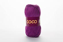 Пряжа Vita cotton COCO цвет 3888 темно-сиреневый