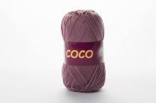 Пряжа Vita cotton COCO цвет 4307 пыльная роза