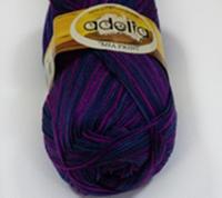 Adelia «MIA PRINT» № 17 яр.розовый-синий-фиолетовый