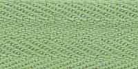 Молния Meras потайная неразъемная, 1 замок 3мм 60см, цвет 2739 фисташковый