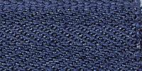 Молния Meras потайная неразъемная, 1 замок 3мм 60см, цвет 2626 темно-синий
