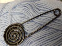 Булавка декоративная латунь 7,8мм