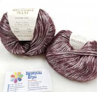 Пряжа Белсаида Макси (Belsaida Maxi), цвет 82643 бордо