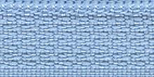 Молния Meras потайная неразъем, 1 замок 3мм 50см, цвет светло-голубой
