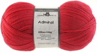 Пряжа Admiral, 100 гр., цвет 1303 вишневый