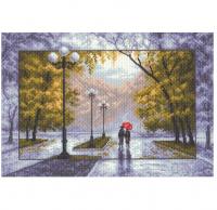 """Рисунок на канве 37х49см арт.1412 """"Осень"""""""