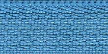 Молния Meras потайная неразъем, 1 замок 3мм 50см, цвет бирюзовый