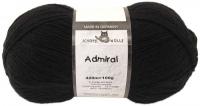 Пряжа Admiral, 100 гр., цвет 880 черный