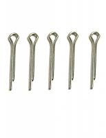 Шплинты стальные  с О-образным ушком 20х2,0 мм, 5шт.