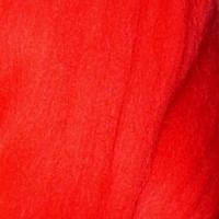 Пряжа LG_Wool (ЛГ Шерсть) для валяния 100% шерсть 100 г  0213 кармин