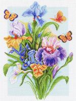 "Рисунок на канве 37х49см арт.1181 ""Весенняя радуга"""