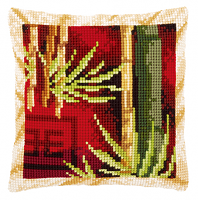 """Подушка """"Бамбук I"""" набор для вышивания"""