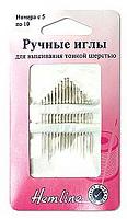 Иглы ручные для вышивания с острым кончиком, №5-10, 16 шт