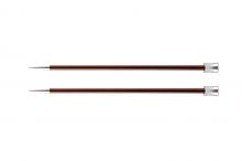 """Спицы прямые """"Zing"""" 5.5мм/25см, коричневый, 2шт в упаковке"""