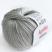 Пряжа Brisa (Бриса), цвет 25 светло-серый