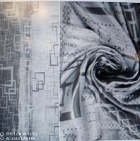 Блэкаут жаккардовый, серый, выс.280 (цена за 1см)