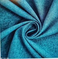 Лен-портьера, джинсовый меланж, выс.280 (цена за 1см)