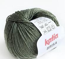 Пряжа Brisa (Бриса), цвет 62 олива