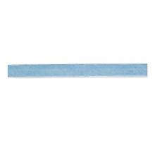 Лента бархатная 6 мм, голубая