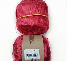 Пряжа Рафия (Raffia), цвет 91 вишня